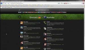 Bildschirmfoto: Twitter WM-Verlgeich