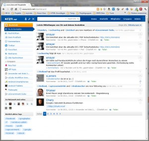 Persönliches Portal im krzn.net
