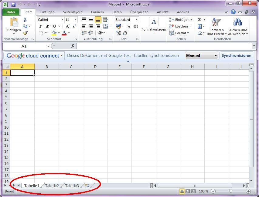 Neue Excel-Datei mit nur einem Reiter erstellen – Ein Blog-Quickie ...