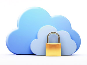 "Grafik ""Cloud computing, security"" von belekekin http://de.fotolia.com/id/42847744"