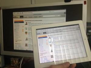 Airplay Wiedergabe vom iPad aus