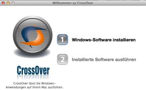 Crossover erleichtert die Installation und Ausführung von (leider nicht allen) Windows-Programmen