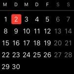 Kalenderüberblick