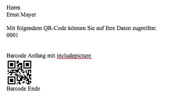 Dynamische Qr Codes Im Ms Office Word Serienbrief Mac