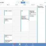 Ansicht Wochenkalender